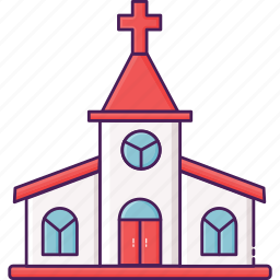 building, church, city, religion icon