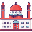 building, city, mosque, religion icon