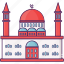 building, city, mosque, religion icon