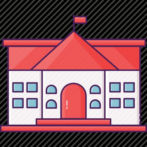 building, city, education, study, university icon