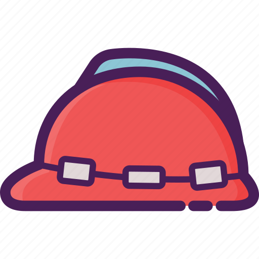 cleaning service, construction, equipment, hard hat, helmet, work icon