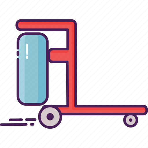 cleaning, cleaning service, equipe, trolley icon