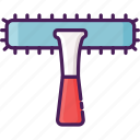 clean, cleaning service, home equipment, squeezer, window, window squeezer icon