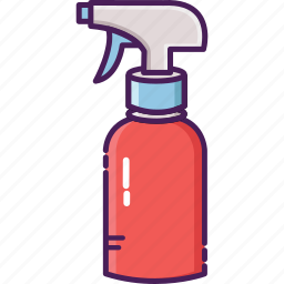 bottle, cleaning service, garden, mist fluids, spray bottle icon