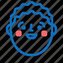 avatar, boy, face, feeling, head icon