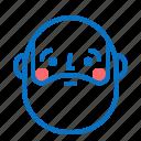 avatar, boy, emotion, profile, smile icon
