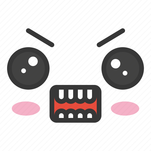 Angry, emoji, emoticon, emotion, face icon - Download on Iconfinder