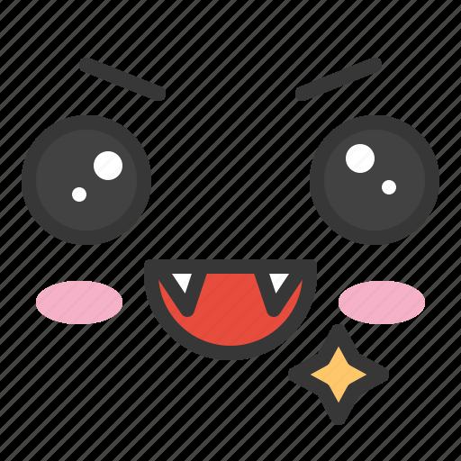 emoji, emoticon, emotion, face, smile icon