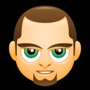 man, avatar, green eyes, clean shaven