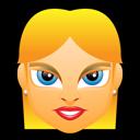 girl, avatar, blonde