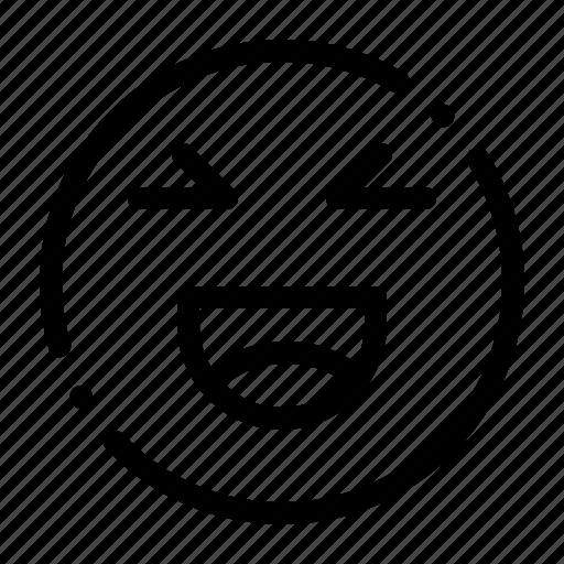chat, emoji, happy, smile icon