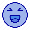 chat, emoji, happy, smile
