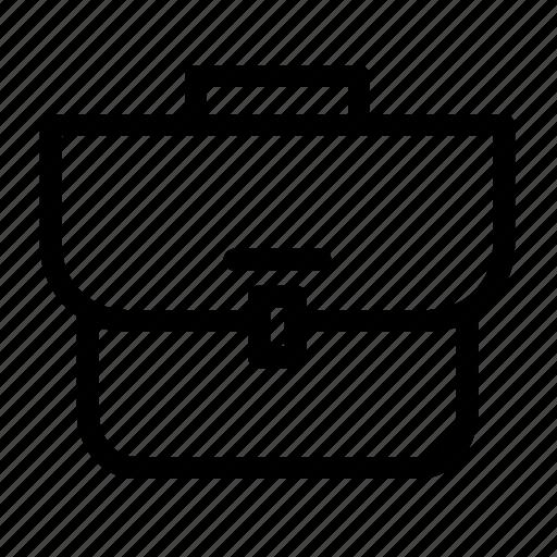 bag, case, suitcase, workbag icon