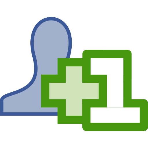 add, added, friend icon