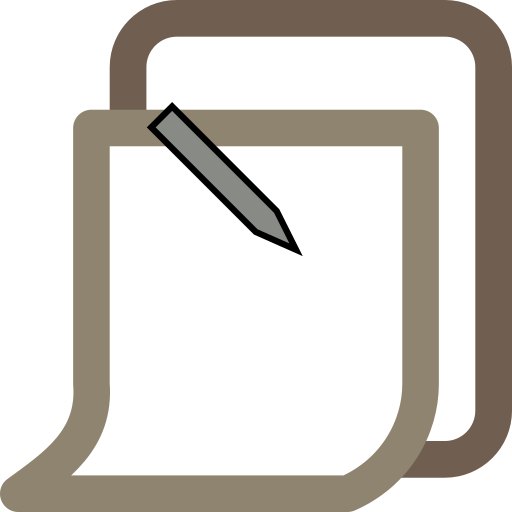 clipboard, item, posted icon