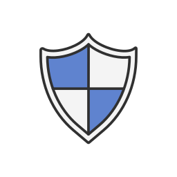 facebook, fb, security, shield icon