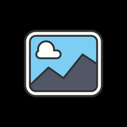 gallery, image, photo, upload photo icon
