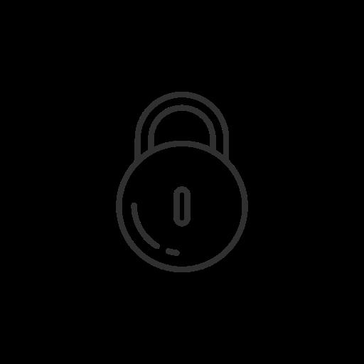 facebook, lock, security, settings icon