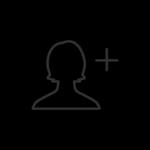 add friend, add user, facebook, fb icon