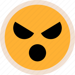 emotion, evil, talk icon