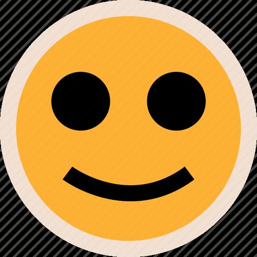 face, happy, smile icon