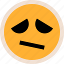 emotion, sad, sadness icon