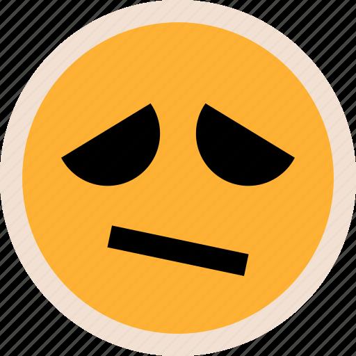 emotion, sad, sadness icon