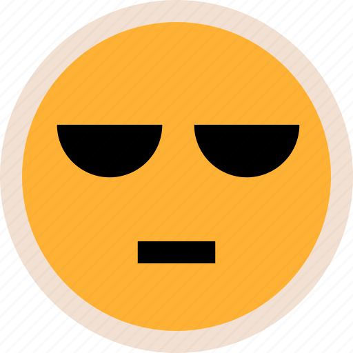 emotion, faces, serious icon