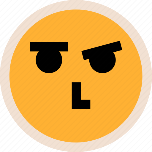 emotion, face, thinking icon