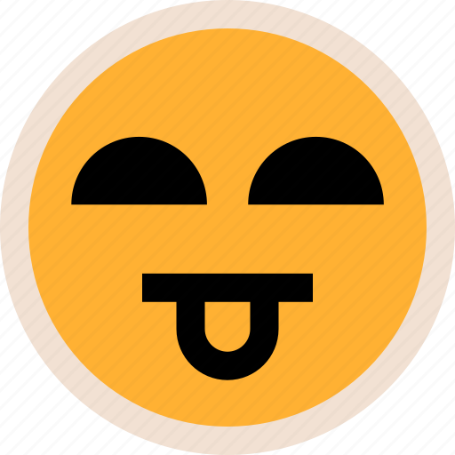 emotion, face, tongue icon