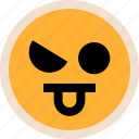 emotion, funny, tongue icon