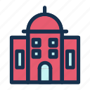 building, city, facility, skyscraper, town icon