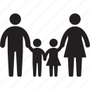 child, familar, family, father, happy, kids, parent icon