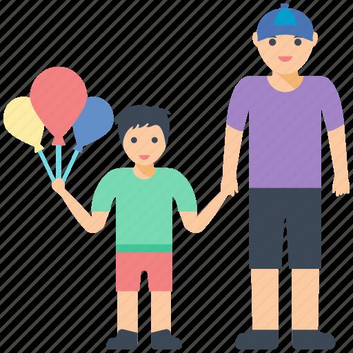 child, father son, funtime, parent, parent love icon