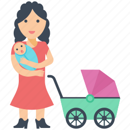 baby sitting, mother, mother love, newborn, only parent icon
