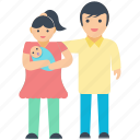 baby love, child, family, infant care, parents love icon