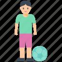 boy, football player, fun time, play time, young boy icon