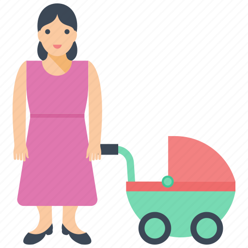baby sitting, cot baby, mother love, newborn, only parent icon