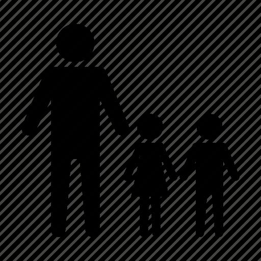 child, children, family, parent icon
