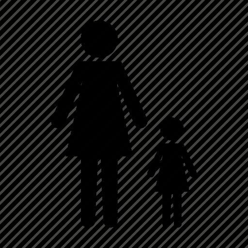 baby, child, children, daughter, family, parent, parents, single icon