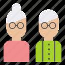 couple, family, grand, grandma, grandpa, grandparents, parents