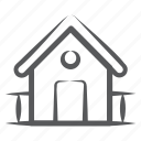 countryside, home, hut, garage, shed, farmhouse, outdoor icon