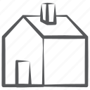 accommodation, building, countryhouse, dwelling, home, homestead icon