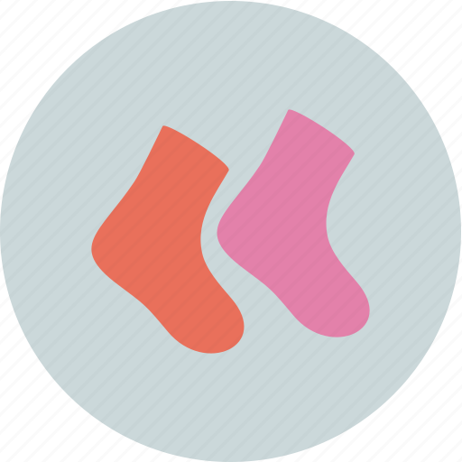 baby, child, family, sock icon
