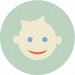 baby, child, face, family icon