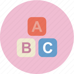 baby, child, family, letter icon