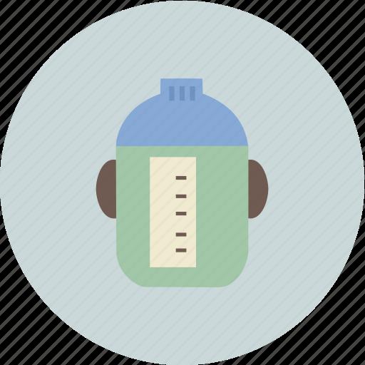 baby, bottle, child, family icon