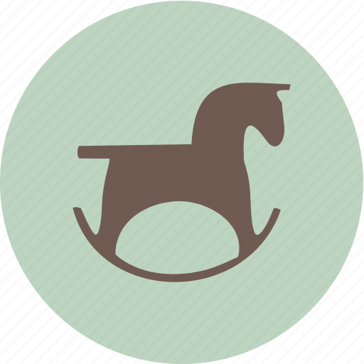 baby, child, family, horse icon