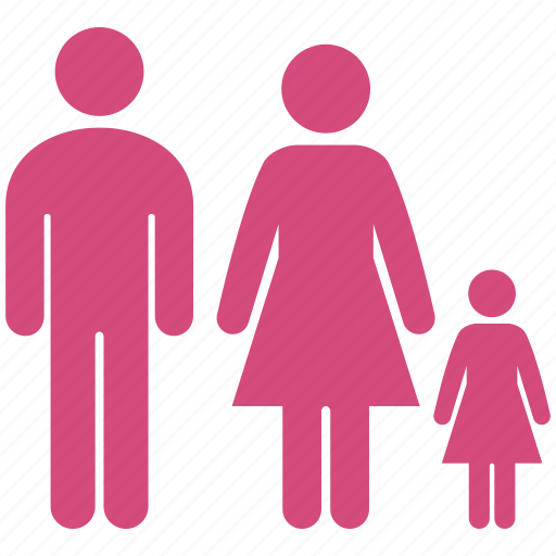 children, family, father, group, mother, parents, shopping icon