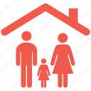 family, home, childrens, house, household, sister
